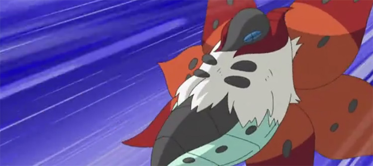 Volcarona Pokémon anime screenshot