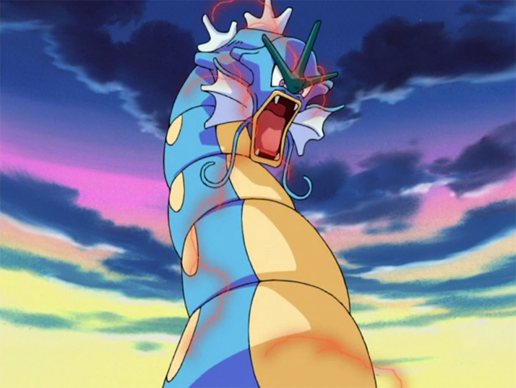 Gyarados in Pokémon anime