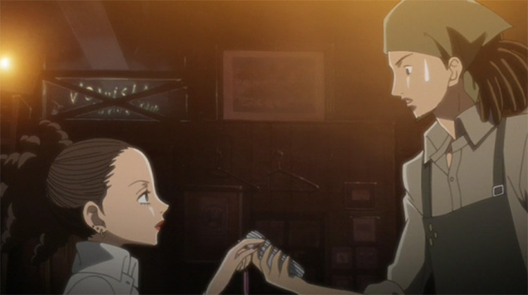 Junko Saotome and Kyosuke Takakura from Nana anime