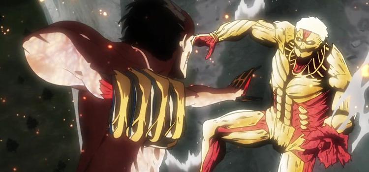 Anime AOT Reiner Titan screenshot