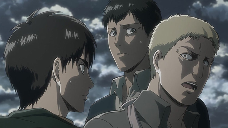 Reiner and Bertholdt Reveal Their Identities Attack on Titan