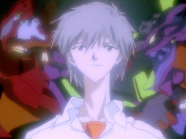 Kaworu Betrays Shinji in Neon Genesis Evangelion