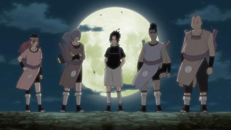 Sasuke Joins Orochimaru scene in Naruto
