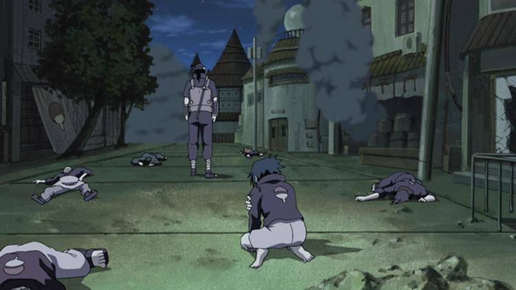 Itachi Murders His Own Clan Naruto
