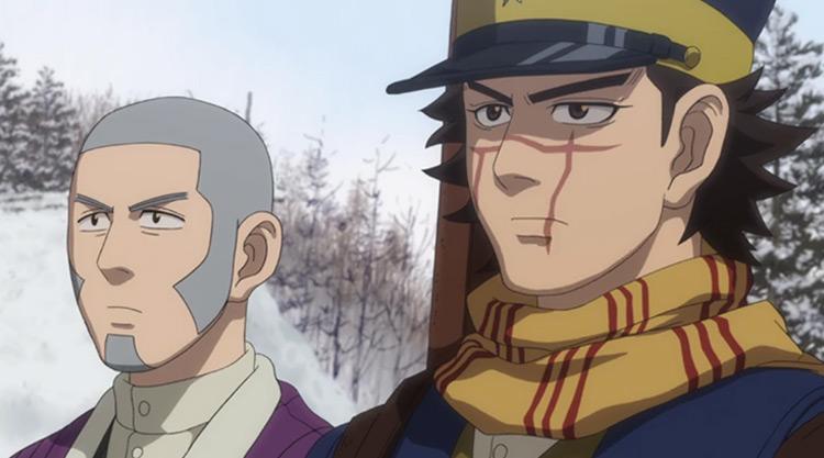 Golden Kamuy anime