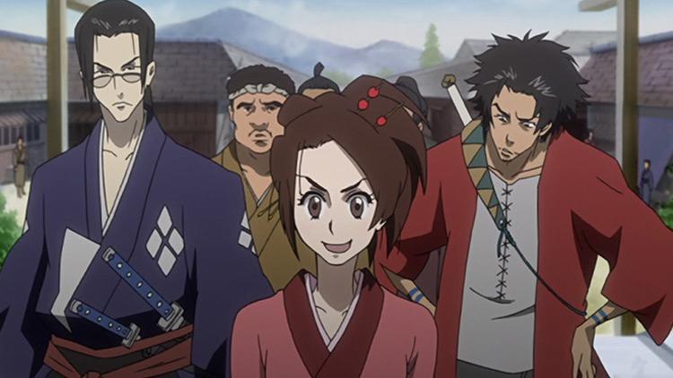 Samurai Champloo anime