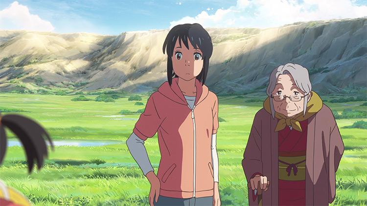 Your Name anime screenshot