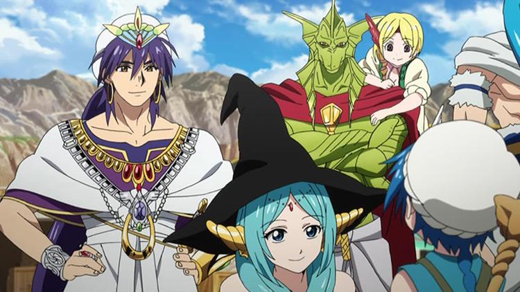 Magi: The Labyrinth of Magic anime