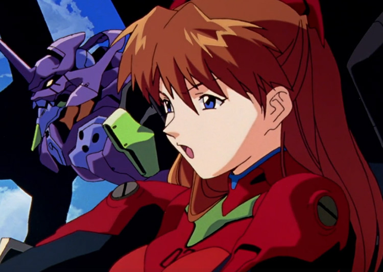 Asuka Langley in Neon Genesis Evangelion