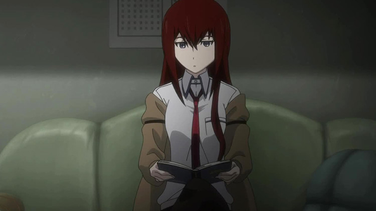 Kurisu Makise from Steins;Gate anime