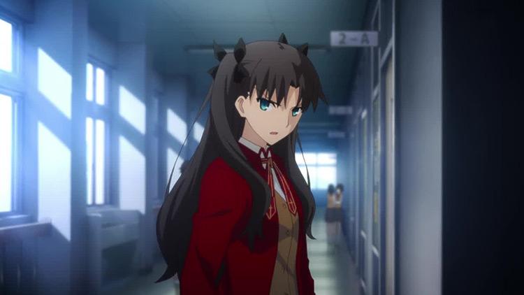 Rin Tohsaka in Fate/stay night