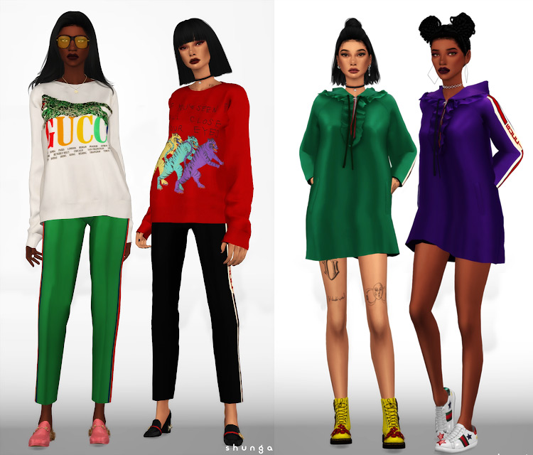 Gucci Collection TS4 CC
