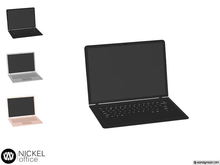 Nickel Laptop Sims 4 CC