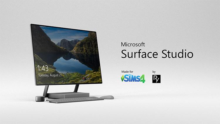 Microsoft Surface Studio Sims 4 CC