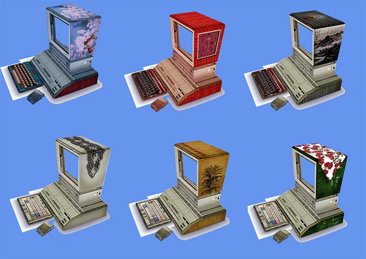 Dung Computer Sims 4 CC