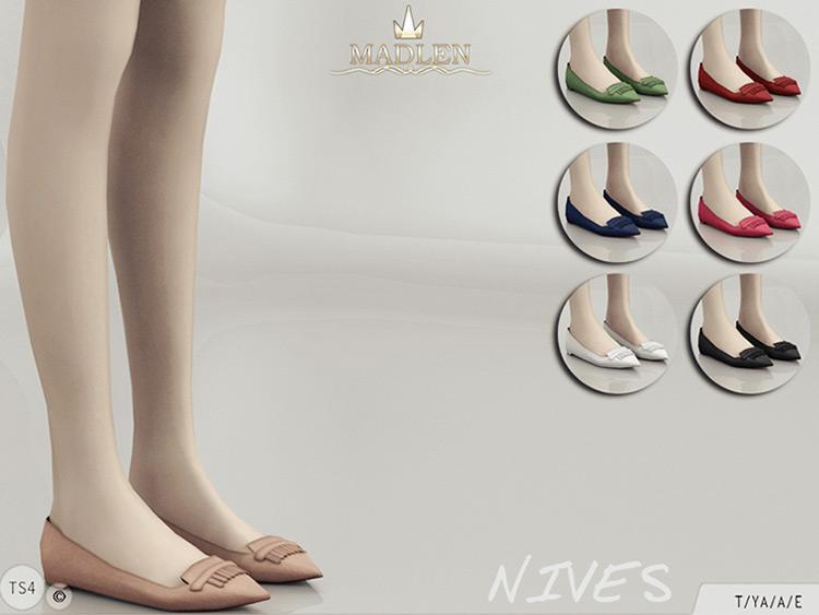 Madlen Nives Flats Sims 4 CC