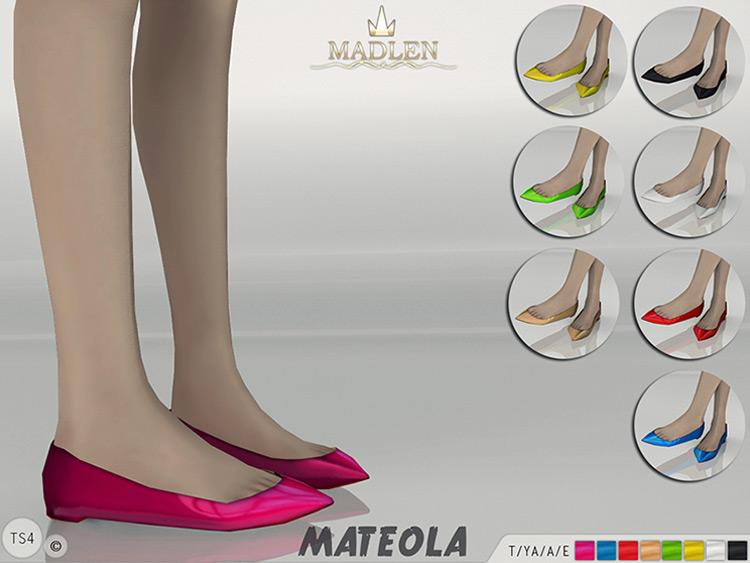 Madlen Mateola flats Sims 4 CC