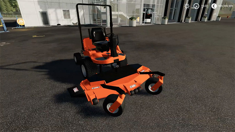 Kubota F3060 Mower Farming Simulator 19 Mod