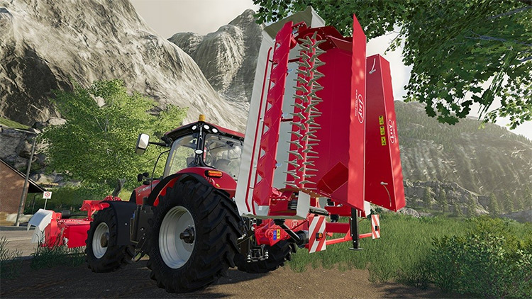 Lely Splendimo 900 MC Farming Simulator 19 Mod