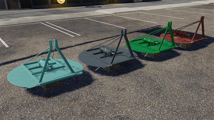 Chain Mower Mod for Farming Simulator 19