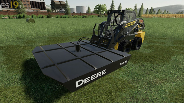 John Deere RX84B Farming Simulator 19 Mod