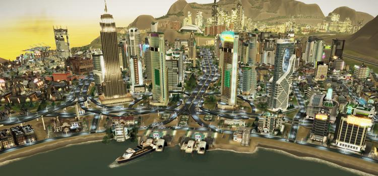 Orions Belt Mod Screenshot for SimCity 2013