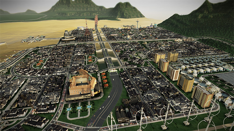 Orion's Belt Modpack for SimCity 2013