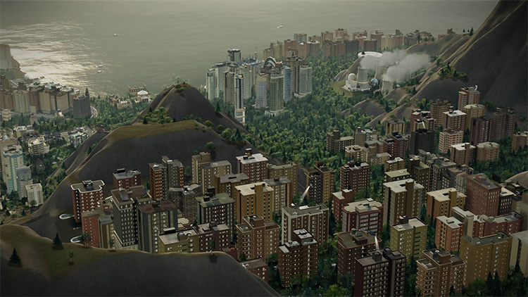 Project Orion Mod for SimCity 2013