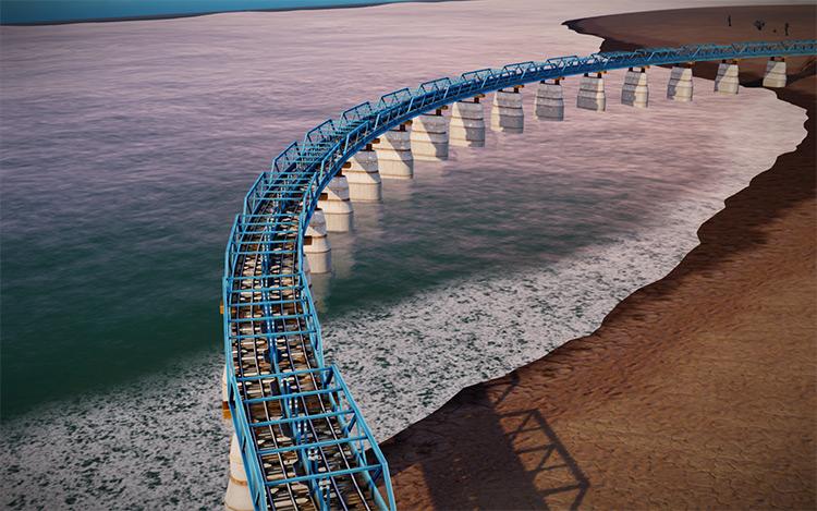 Regional Bridge and Tunnels SimCity 2013 Mod