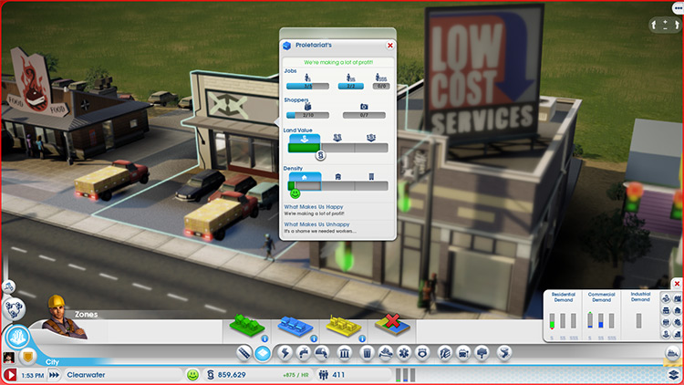 The Extended Worker Data SimCity 2013 Mod