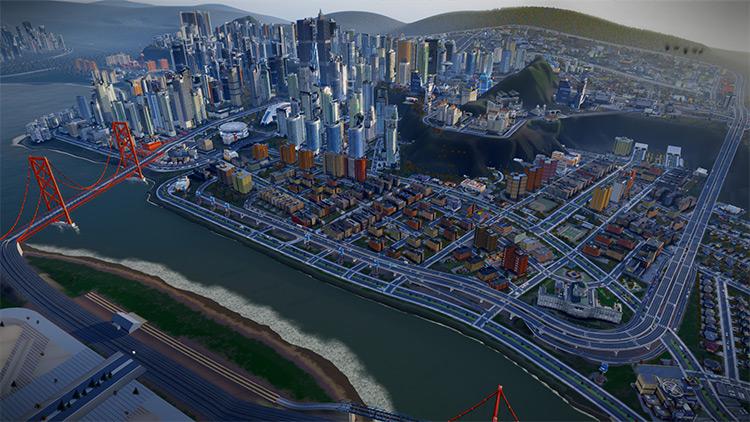 SUGC pack SimCity 2013 Mod screenshot