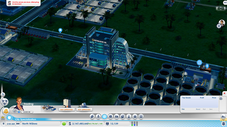 HQ Upgrades Mod for SimCity 2013