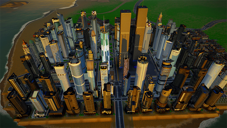 World Trade Center Pack SimCity 2013 Mod