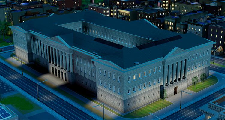Museum SimCity 2013 Mod screenshot