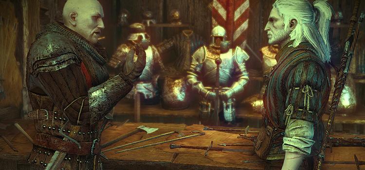 Geralt Full Beard Mod for Witcher 2