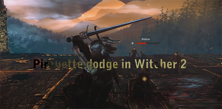 Pirouette Dodge Mod for Witcher 2