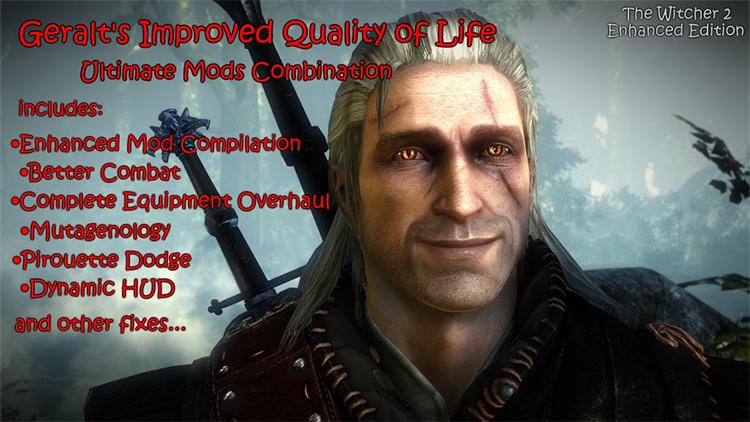 Geralt's Improved Quality of Life Mod