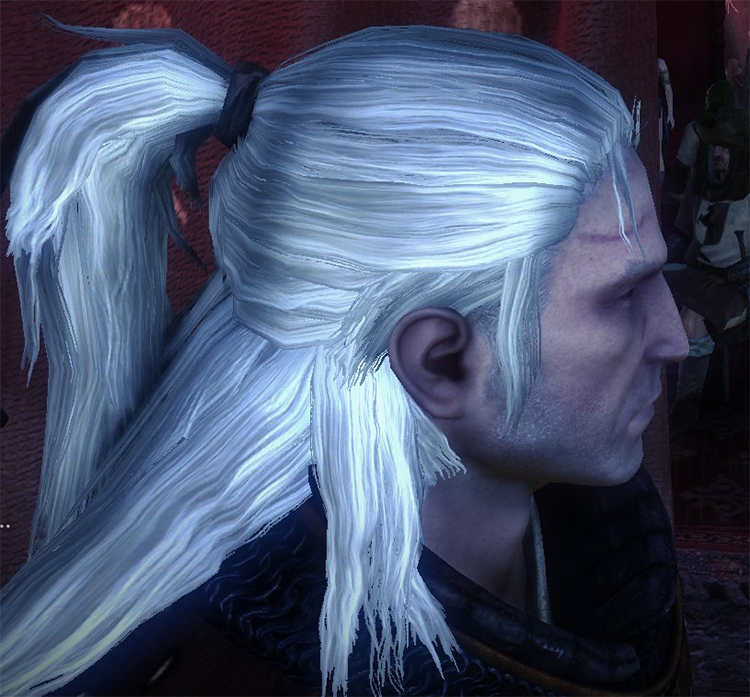 Hair Texture Replacement White Witcher2