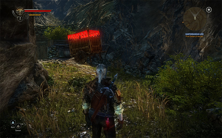 Grass Color Fix for Witcher2