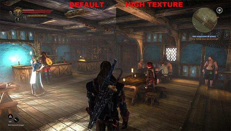 Better Texture Environment Witcher2