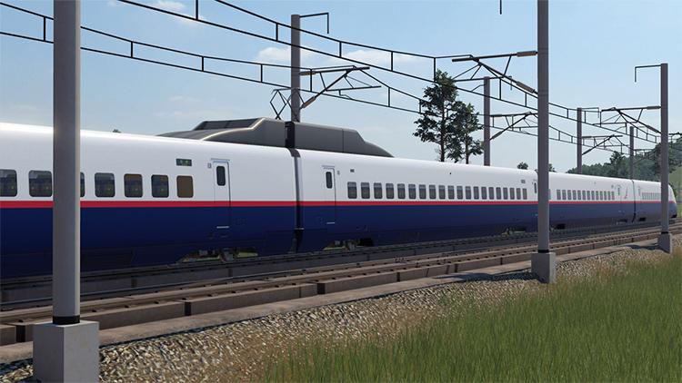Shinkansen E2 Mod - Transport Fever 2