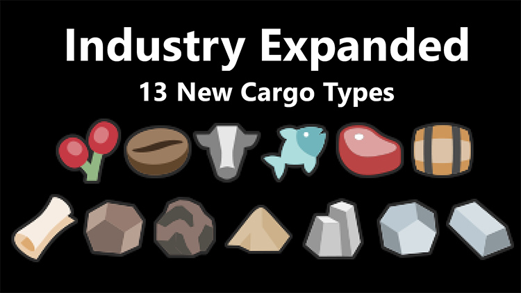 Industry Expanded Mod - Transport Fever 2