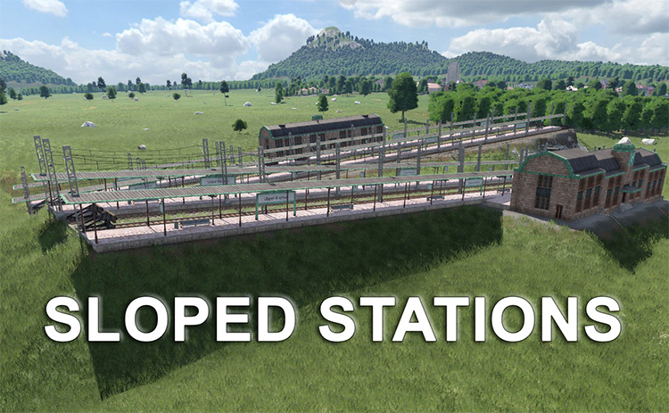 Sloped Train Station Mod
