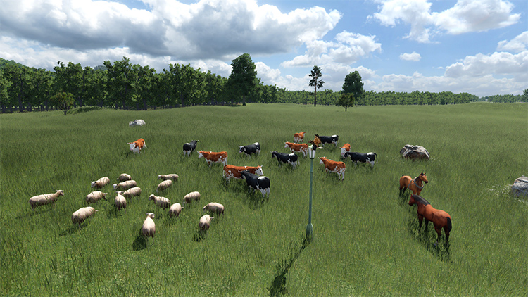 Animals Asset Mod for Transport Fever 2