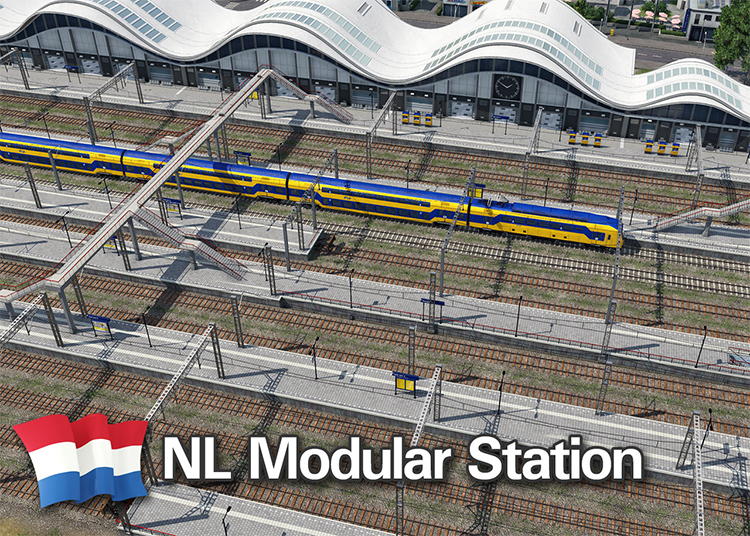 NL Modular Station for Transport Fever 2