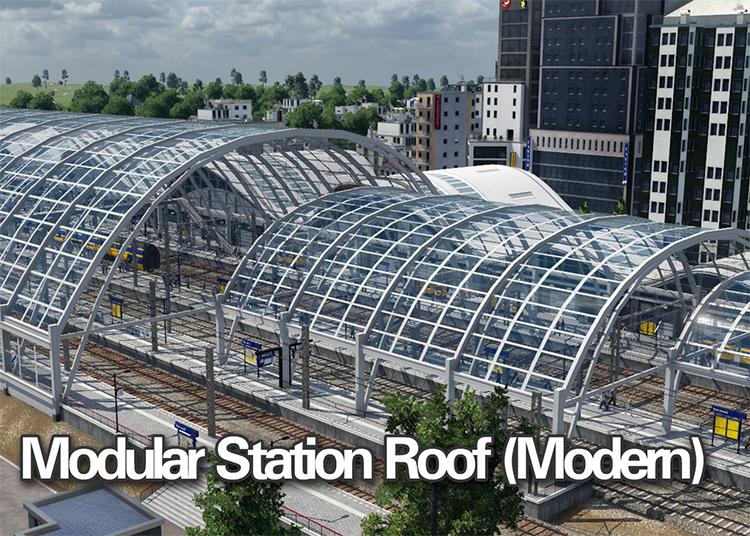 Modular Station Roof Mod