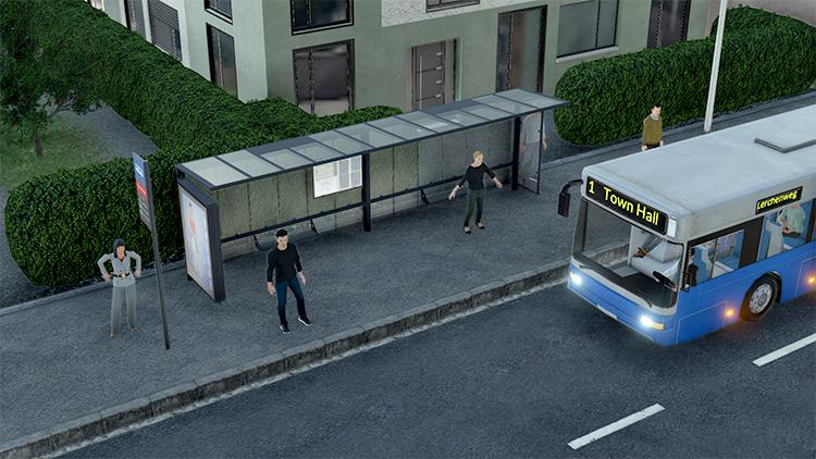 Urban Bus Stops Mod
