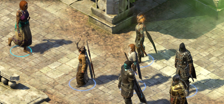 Pillars of Eternity party mod