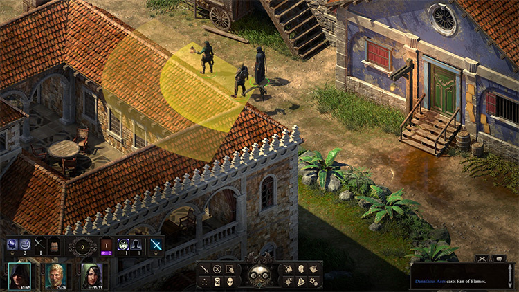 No Friendly Fire Pillars of Eternity II Mod