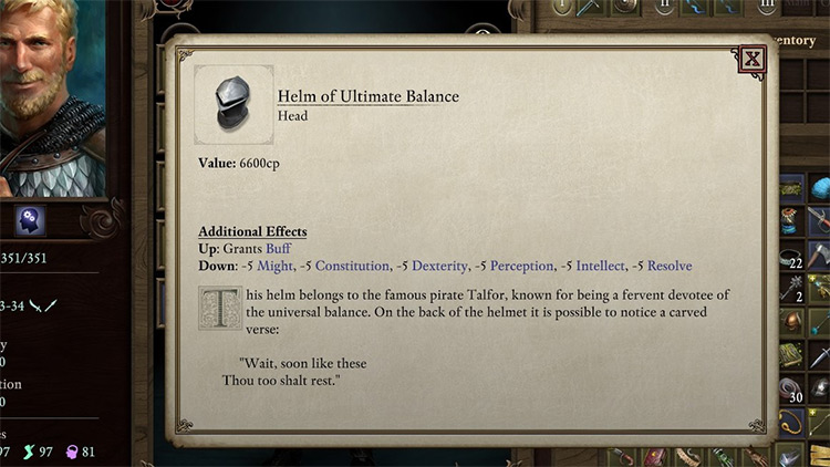 TT1 New Items Pillars of Eternity II Mod